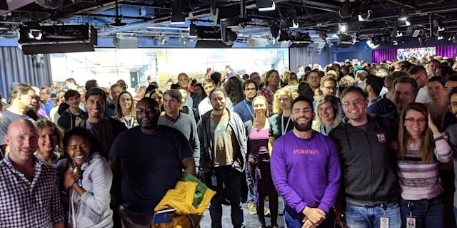 Google walkout London