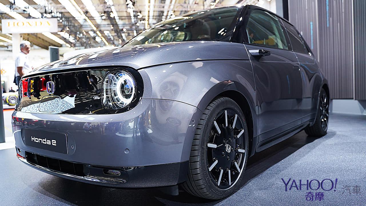 【2019法蘭克福車展】挑戰德系霸權!Honda E電動小車展現精湛日系工藝!