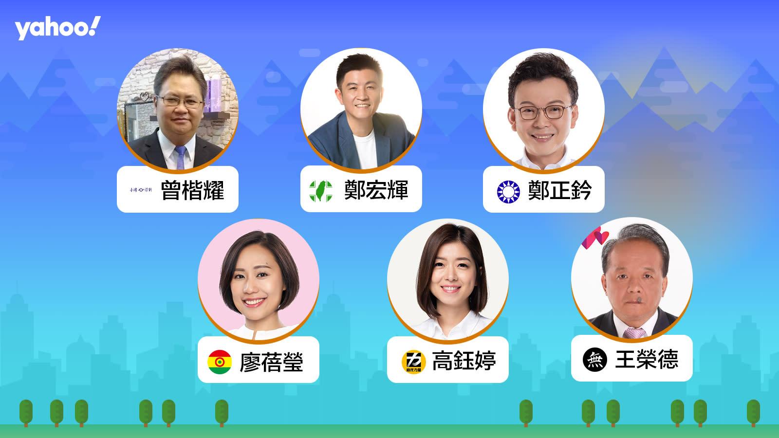 2020立委選舉新竹市第一選區,你支持誰?