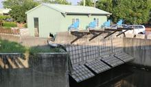 下營區首座應急抽水站完工 積水消退3天縮短為半天