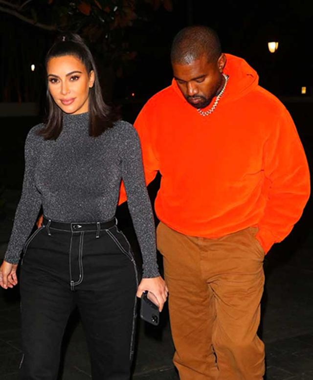 Kim Kardashian y Kanye West en Nueva York