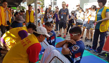 九九國民體育日 台南市立醫院與統一獅合辦體適能活動