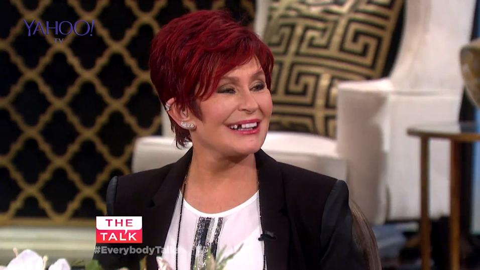 Talk Show Talk Show Sharon Osbourne Loses a Tooth During Live tv Show The Talk