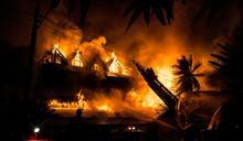 緬甸仰光飯店發生大火 傳一人喪生