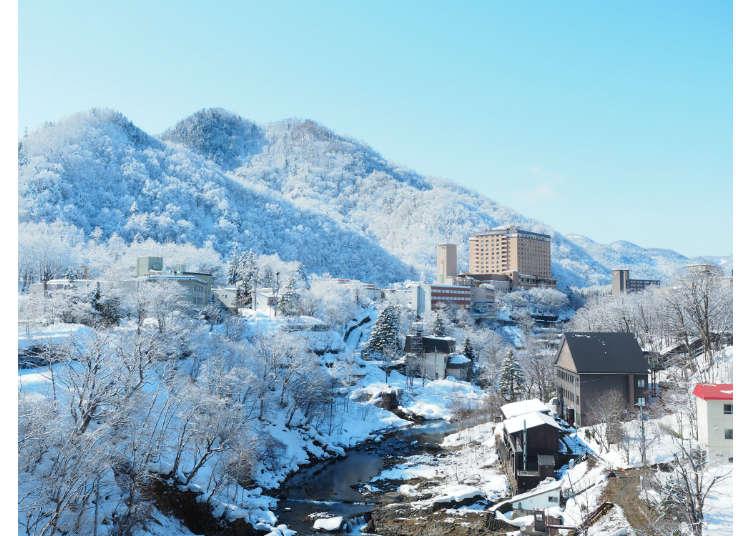 北海道札幌出發只要50分鐘!定山溪溫泉&午餐小旅行