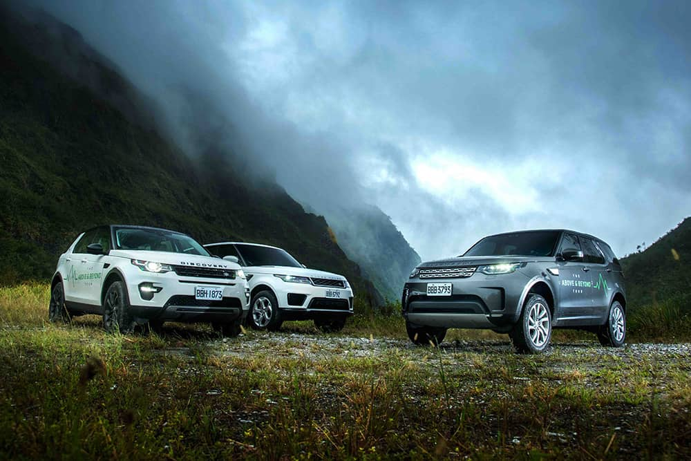探索台灣景觀之美!2019 Land Rover The Above and Beyond Tour 10/26起登場