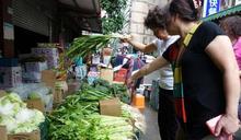 颱風泰利逼近 菜價飆漲逾3成