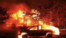 美國加州灣區野火延燒 著名酒鄉納帕遭殃 至少10死、逾2萬人疏散