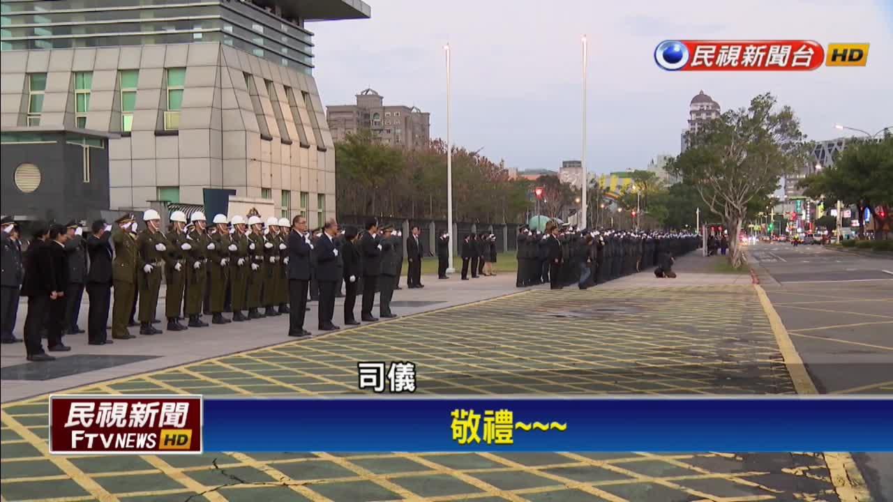 黑鷹殉職將士移柩 沿途民眾致敬、總統親悼