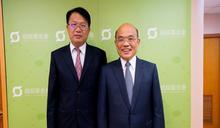 民進黨台南市長初選 顏純左北上向蘇貞昌請益