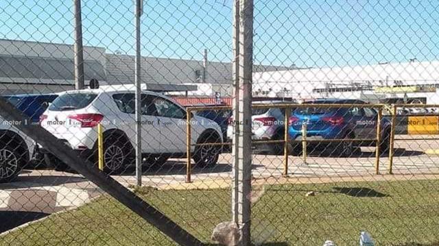 Renault Sandero 2020 - Flagra sem camuflagem