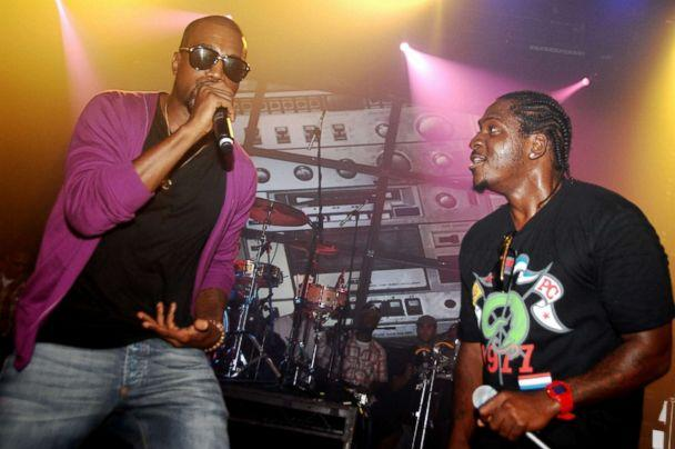 PHOTO: Kanye West and Pusha T attend THE DIESEL U Music Tour 2009 NYC at Webster Hall, July 30, 2009 in New York City. (Patrick McMullan via Getty Images, FILE)