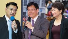 2018台中市長》盧秀燕、江啟臣挑戰 「林佳龍是民進黨派系共同合作」