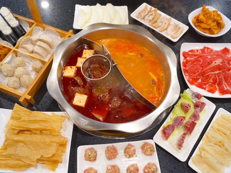 后里激推!最道地四川麻辣火鍋,鴨血、豆腐還能吃到飽!