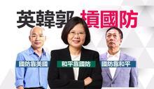 【Yahoo論壇/高順德】韓、柯、蔡三分天下?