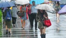 北北基宜花續發大雨特報 明全台多處也有雨
