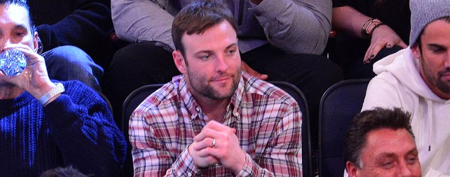 Wes Welker of the Denver Broncos watched a New York Knicks game (Getty Images)