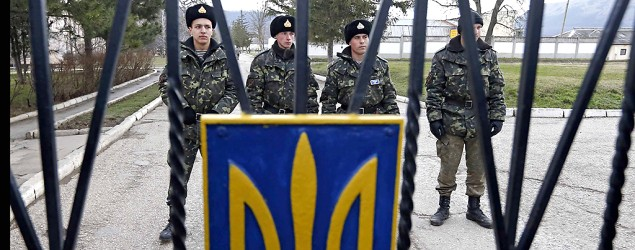 ukraine mobilizes for military action the prime minister calls russian