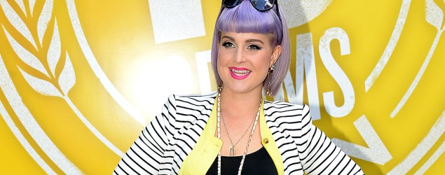 "Kelly Osbourne: Purple hair is ""a part of me"" (Michael Loccisano/Getty Images)"