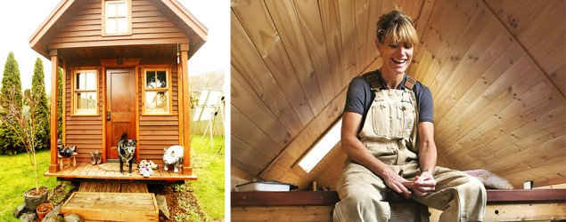 Tiny house built for $10,000 (Betty Udesen/Dee Williams)