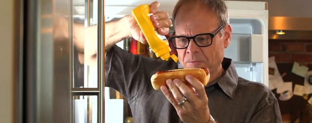 Alton Brown's handy DIY condiment hack (YouTube)