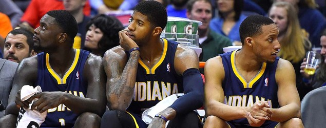 Tensions boil over for struggling Pacers