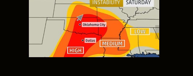 Forecasters wary of dangerous tornado weekend (The Wire)