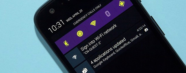 3 apps that customize the Android notification bar