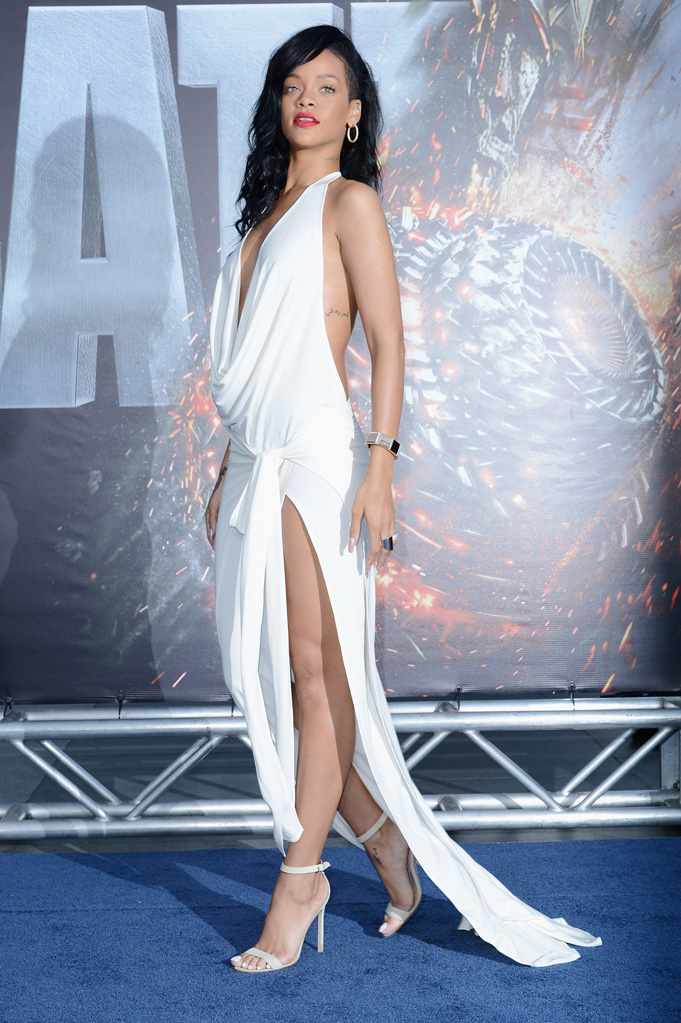 Battleship Premiere Rihanna