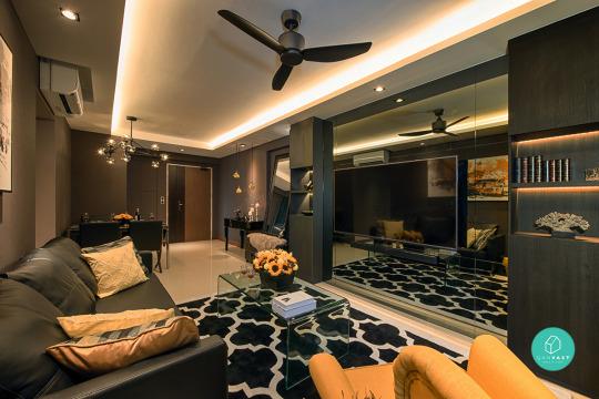 Marvelous 12 Must See Ideas On 4 Room / 5 Room HDB...   Qanvast