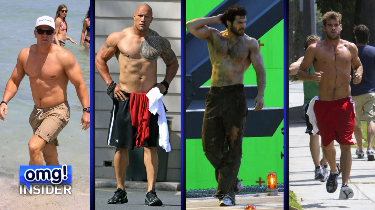 Gallery images and information: Dwayne Johnson Muscles Before After