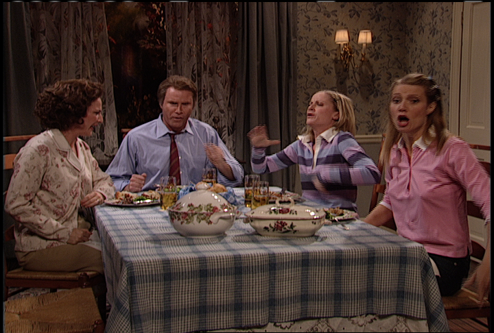 Dysfunctional Family Dinner | Saturday Night Live Yahoo Screen