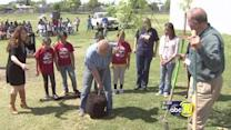 Valley schools received special gifts on Arbor Day
