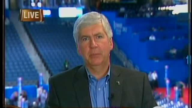 Governor Snyder in Tampa