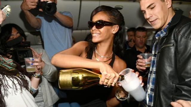 Rihanna Takes Fans on Private Plane for Her 7-7-7 World Tour