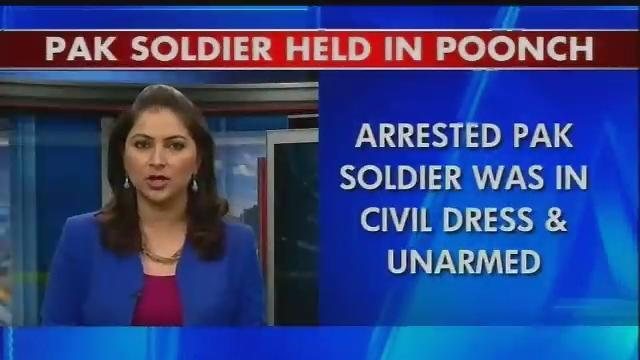 Pakistani soldier arrested in Jammu