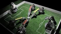 Robots Battle for the 'Robotik' World Cup Title