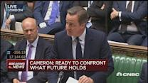 UK banks have enough capital & liquidity: Cameron