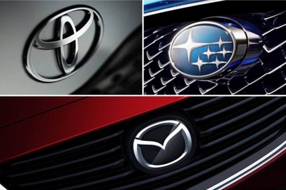 多家汽車品牌成為受害者,包括 Toyota、Subaru、Mazda 等,幾乎都是在車頭與車門處使用到「神戶製鋼所」的造假鋼材。(此為合成圖)