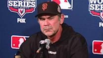 Bruce Bochy reveals Series rotation