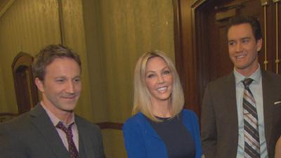 Heather Locklear On Joining The Cast Of 'Franklin and Bash': How Are The Guys Treating Her?