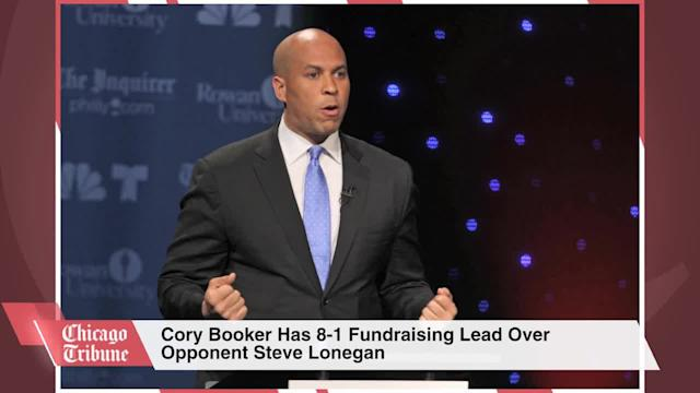 Cory Booker Has 8-1 Fundraising Lead Over Opponent Steve Lonegan