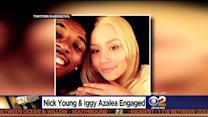 LA Laker Nick Young Proposes To Iggy Azalea At 30th Birthday Party