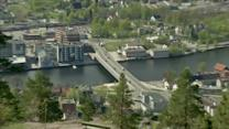 Norwegian city uses fjord water to heat homes
