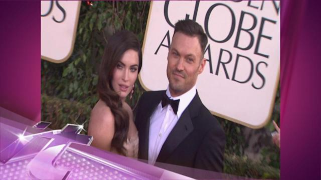 Entertainment News Pop: Pregnant Megan Fox Steps Out With Brian Austin Green After Baby News