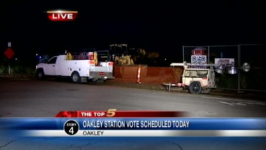 Leaders to vote on Oakley Station