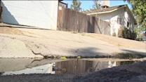 Winter weather brings in gutter mess for some Bakersfield Residents