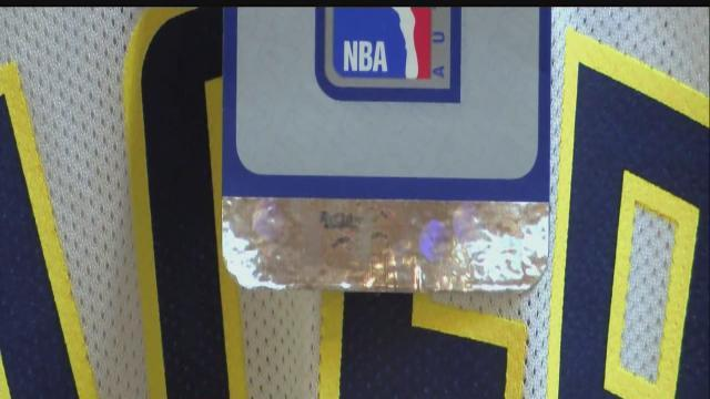 Pacers fans warned about fake gear