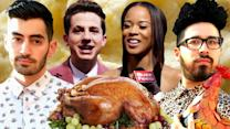 Thanksgiving On The AMAs Red Carpet