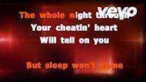 Hank Williams - Your Cheatin' Heart (Karaoke Version And Lyrics)
